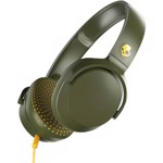 Casti Audio On-Ear Skullcandy Riff, Cu Fir, Olive Moss Yellow
