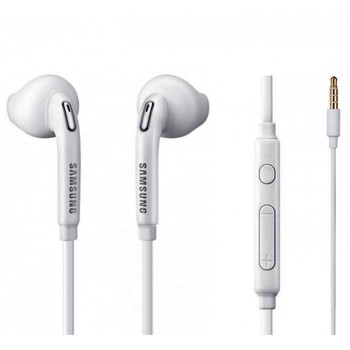 Samsung EO-EG920BW 3.5 MM JACK IN EAR HANDS-FREE STEREO HEADPHONES WITH REMOTE AND MICROPHONE – WHITE