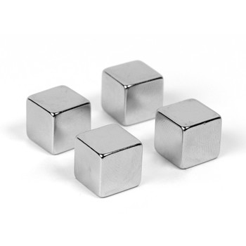 Magnet decorativ Cube, super strong, set 4 bucati