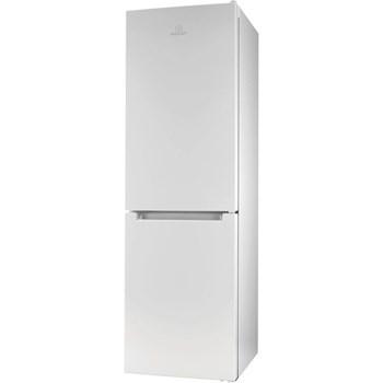 Combina frigorifica INDESIT LR9S1QFW, Low Frost, 371 l, H 201.1 cm, Clasa A+, alb