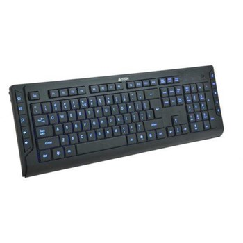 Tastatura A4TECH KD-600L USB Black - Blue Light a4tkla41644