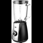 Blender Star-Light BD-600BS, 600W, 1.5l, 5 viteze + functie Pulse, Negru/Inox