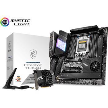 Placa de baza MSI Creator TRX40, AMD TRX40, TRX4, eATX