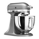 Mixer Artisan 4.8L, Model 125, argintiu - KitchenAid