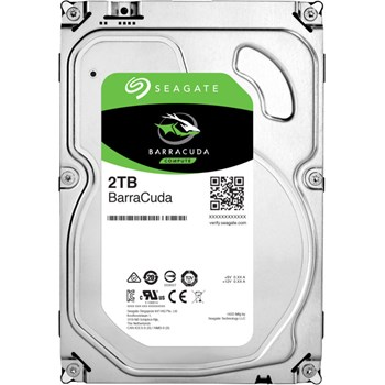 HDD Desktop Seagate BarraCuda, 2TB, SATA III 600, 256 MB