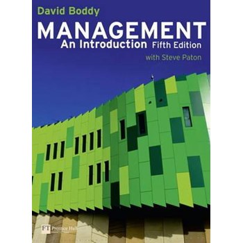 Management: An Introduction with MyLab Access Card - David Boddy