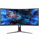 Monitor LED Gaming Curbat AOC CU34G2X 34 inch UWQHD VA 1ms 144 Hz Black