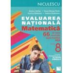 Evaluare Nationala 2015 Matematica 66 De Teste - Rozica Stefan, DanA-Marga Radu, Viorica Baibarac
