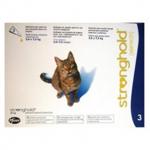 STRONGHOLD, spot-on, soluție antiparazitară, pisici 2,6-7,6kg, 45 mg, 3 pipete