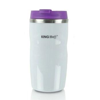 Cana termos cu pereti dubli inox KingHoff KHF-4174 220 ml