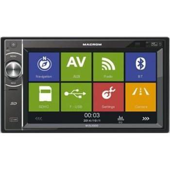 Multimedia Player auto Macrom M-DL5000 4x45W USB Touchscreen Bluetooth GPS