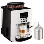 Espressor automat Krups Espresseria Automatic EA8161, 1450W, 15 bar, 1.7 l, Alb/Negru