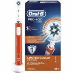 Perie de dinţi electrică Oral-B Pro 400 D16.513, portocaliu