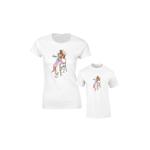 Set de tricouri pentru mama ?i copil Super Family SA648