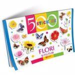 Flori si fluturi. 500 stickere