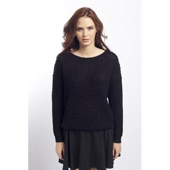 Pulover tricotat Vila negru