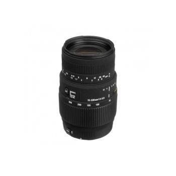 Obiectiv Sigma 70-300mm f/4-5.6 DG Macro (non-APO) pentru Canon