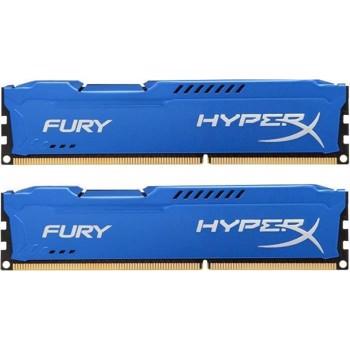 Kit Memorie HyperX Fury Blue 8GB 2x4GB DDR3 1866 MHz hx318c10fk2/8