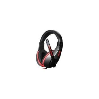 Casti Somic Salar KX102 cu microfon, negre