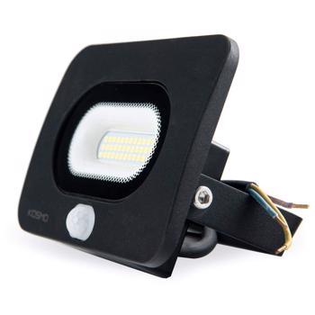 Proiector cu senzor de miscare 50W LED IP65 SLIM