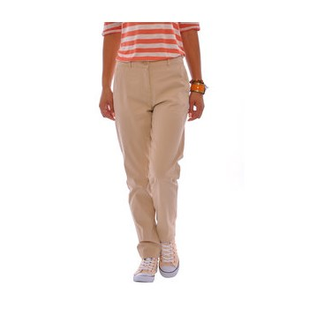 Pantaloni bej pentru femei