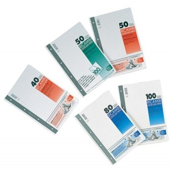 Rezerve pt. caiet mecanic, A4, 50 file/set, matematica, PIGNA