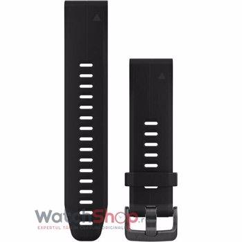 Curea Garmin Quickfit 20 silicon negru fenix 5S/6S 010-12739-00