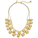 Kate Spade New York Ring It Up Double Strand Necklace Culoarea Gold