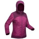 Jachetă Drumeție pe Zăpadă SH100 X-Warm Negru Damă QUECHUA