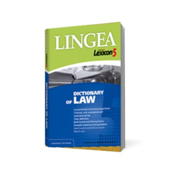 Lingea Lexicon 5 - Dictionary of Law CD-ROM