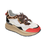 Pantofi sport RADIKAL albi, 2773, din piele naturala