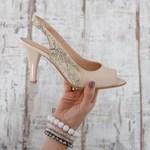 Sandale Piele dama bej Perini