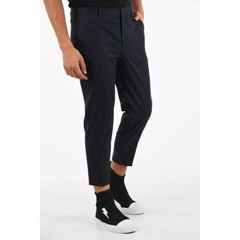 Neil Barrett Regular Rise Skinny Fit Pants Culoarea BLUE BM7901395