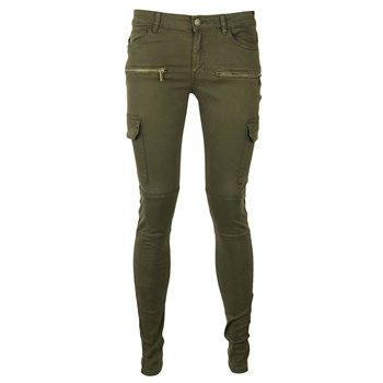 Pantaloni Mango Nita Dark Green