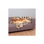 Patura pufoasa cu model pentru catei sau pisici, 70x100 cm