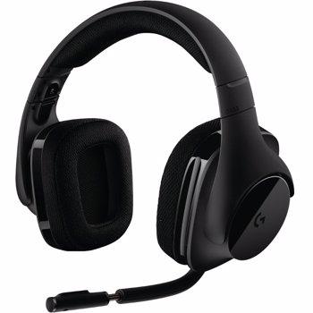 Casti Logitech G533, Wireless, DTS Surround 7.1, Negru