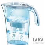 Cana de filtrare apa Laica Stream White, Alb