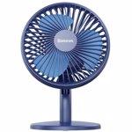Ventilator cu acumulator 2000 mAh , Baseus Ocean Fan , albastru