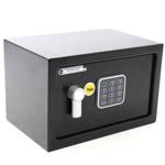Seif compact YALE YSV/200/DB1, Inchidere electronica, 200 x 310 x 200 mm, negru