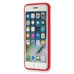 Carcasa rosie Hard Case Iphone 7 Plus Transparent Elastic