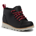 Ghete CLARKS - Crown Tor K 261433137 Black Leather