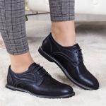 Pantofi Piele Talemi albastri