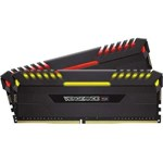 Kit Memorie Corsair Vengeance RGB 4x16GB DDR4 3200MHz CL16 Quad Channel cmr64gx4m4c3200c16