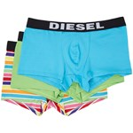 Diesel Shawn 3-Pack Boxer WALL Culoarea Green/Blue