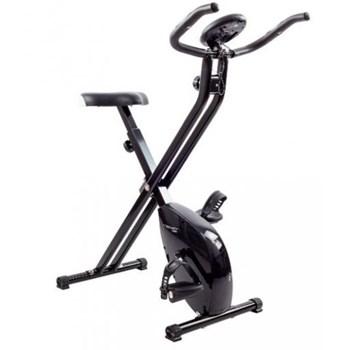 Bicicleta verticala magnetica Techfit XB200, pliabila (Negru)