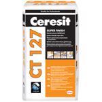 Glet Ceresit CT127 pentru finisaje fine, pe baza de ciment, interior, 20 kg