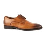 Pantofi Derby barbati enzo bertini maro cognac din piele 3689bp39950cu