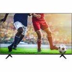 Televizor LED Hisense 43A7100F, 107.9 cm, 4K, Procesor quad core, Dolby Audio, Smart TV, Wi-Fi, CI+, Bluetooth, HDMI, USB, Clasa A, Negru