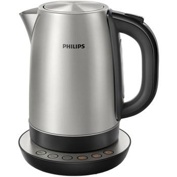 Fierbator Philips HD9326/20, 2200 W, 1.7 l, Argintiu/Negru