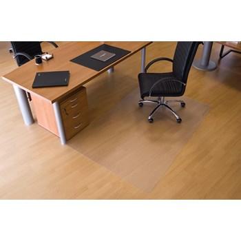 Protectie podea pentru suprafete dure, forma O, 200 x 120cm, RS OFFICE EcoGrip